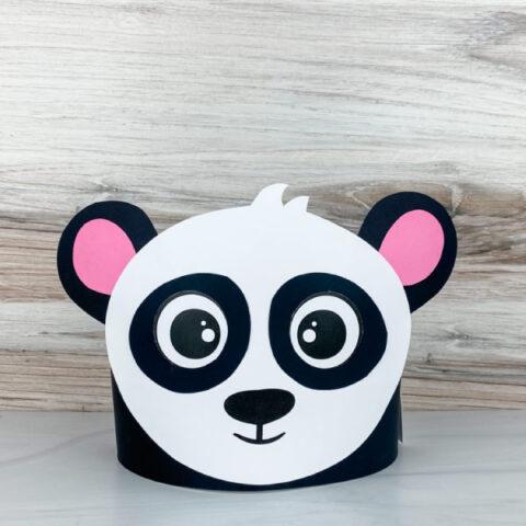 panda headband craft