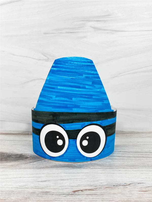 crayon headband craft