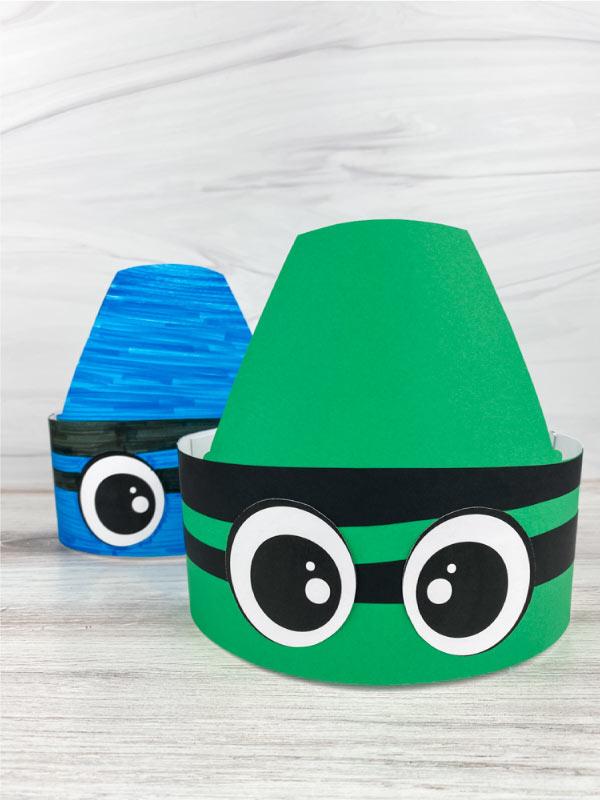 2 crayon headband crafts