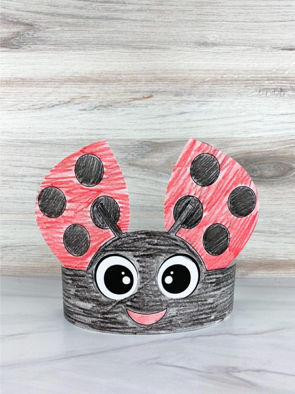 ladybug headband craft