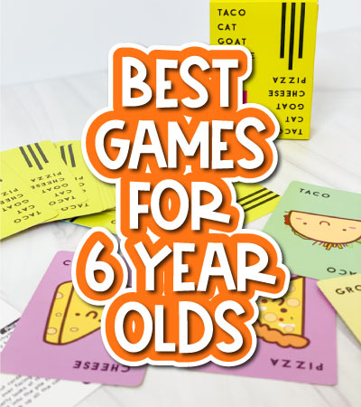 kids card game with the words best games for 6 year olds