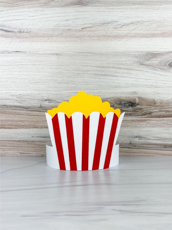popcorn headband craft
