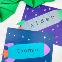 2 rocket name crafts