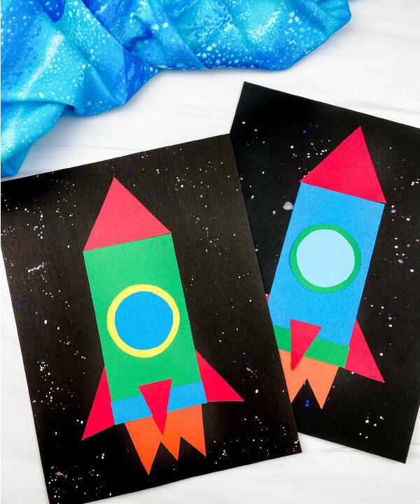 2 shape rocket crafts