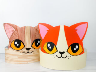 2 cat headband crafts