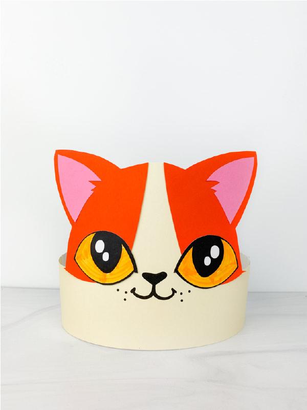 cat headband craft