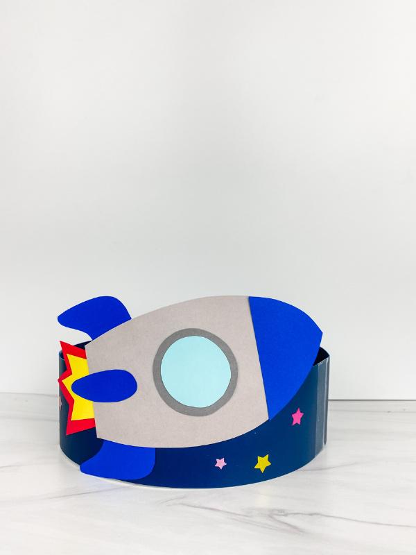 rocket headband craft