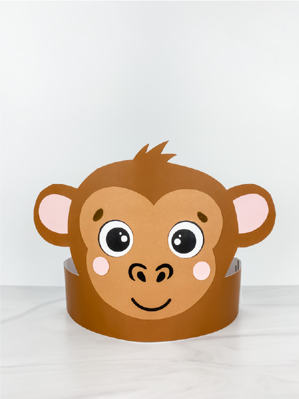 monkey headband craft