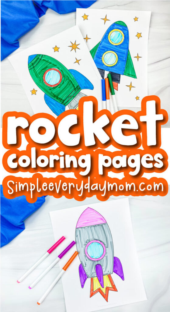 rocket coloring pages with the words rocket coloring pages in the middle