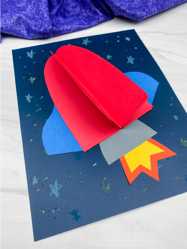 3D rocket craft
