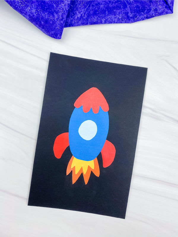 cut and paste rocket craft