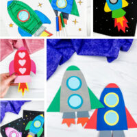 rocket activities for kids image collage