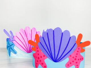 2 mermaid headband crafts