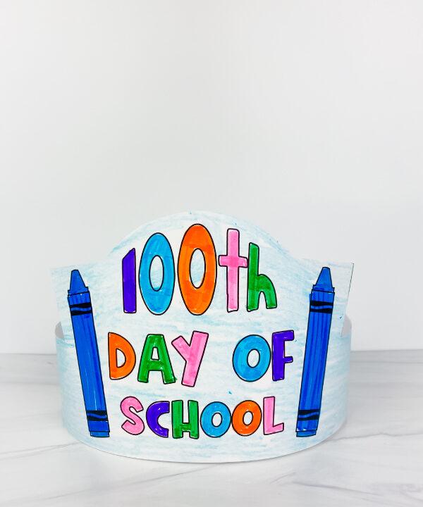 100 days of school headband