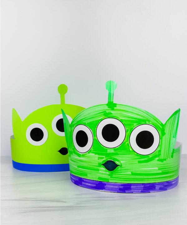 Toy Story alien headband crafts