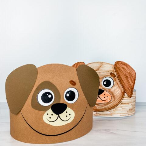 2 dog headband crafts
