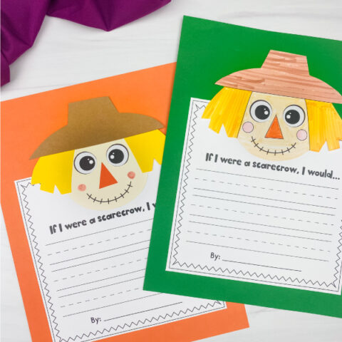 2 scarecrow craftivities