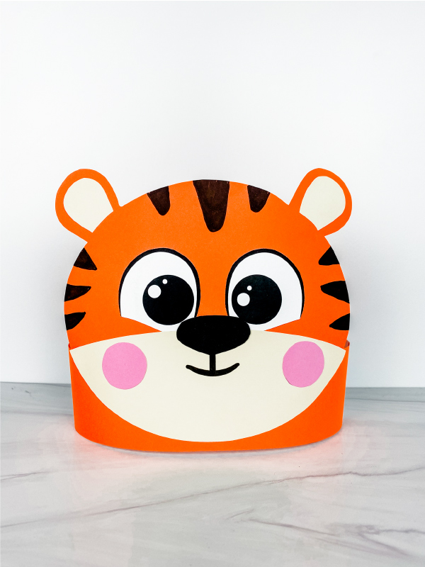 tiger headband craft
