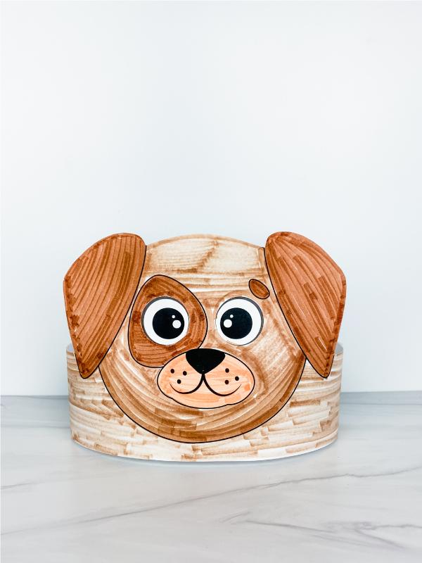printable dog headband craft