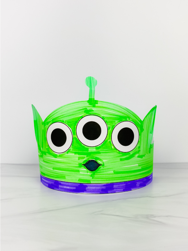 Toy Story alien headband craft