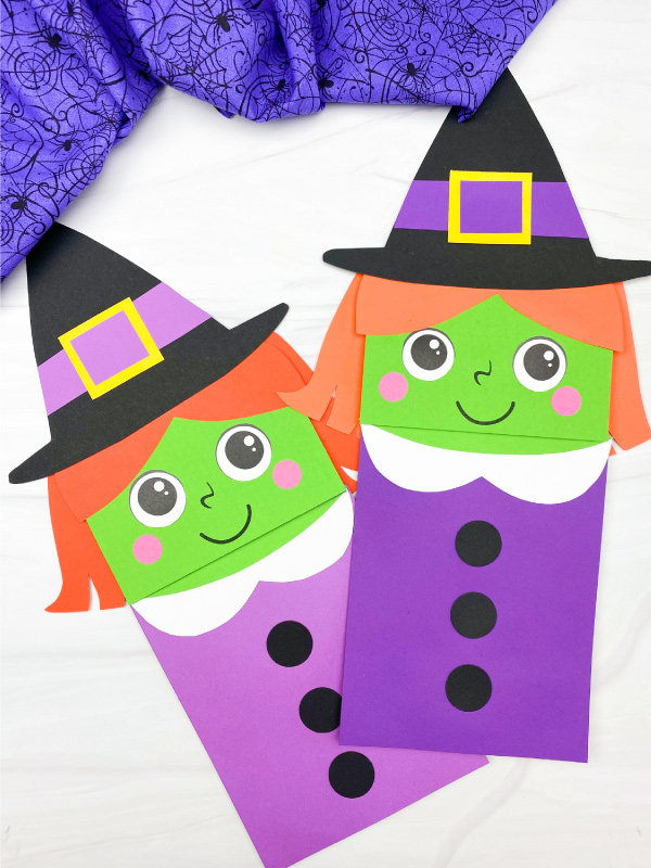 2 witch puppet crafts