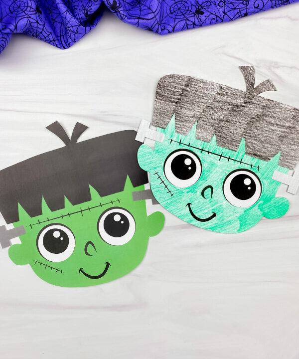 2 Frankenstein kids' crafts
