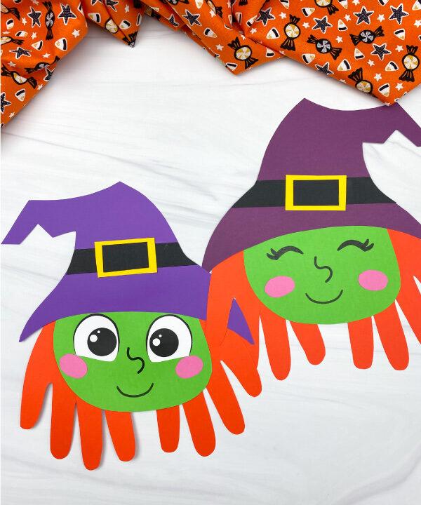 2 handprint witch crafts