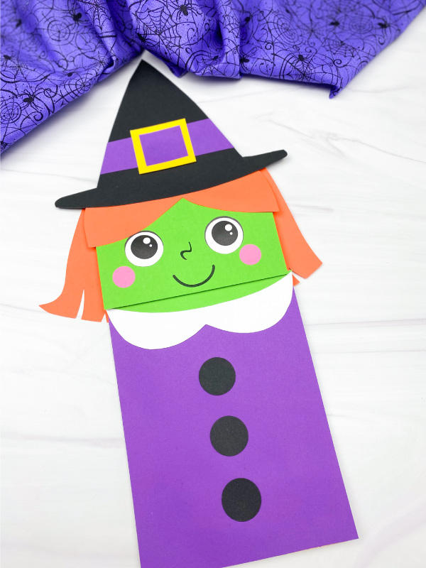witch puppet craft