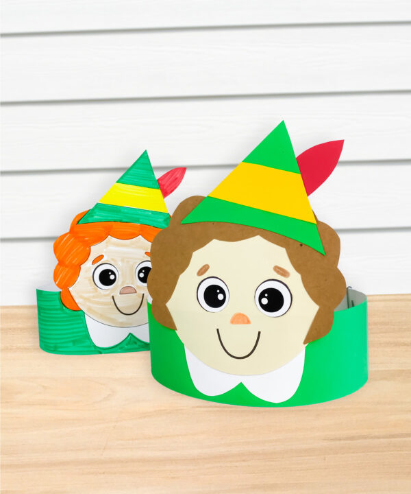 2 Buddy the Elf headband crafts