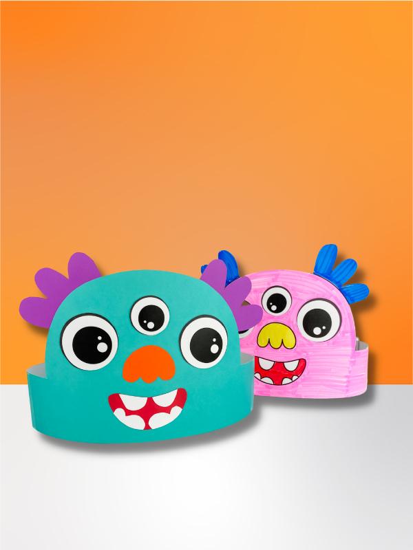 2 monster headband crafts
