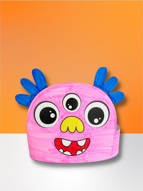 monster headband craft
