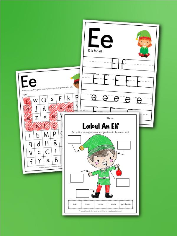elf worksheets