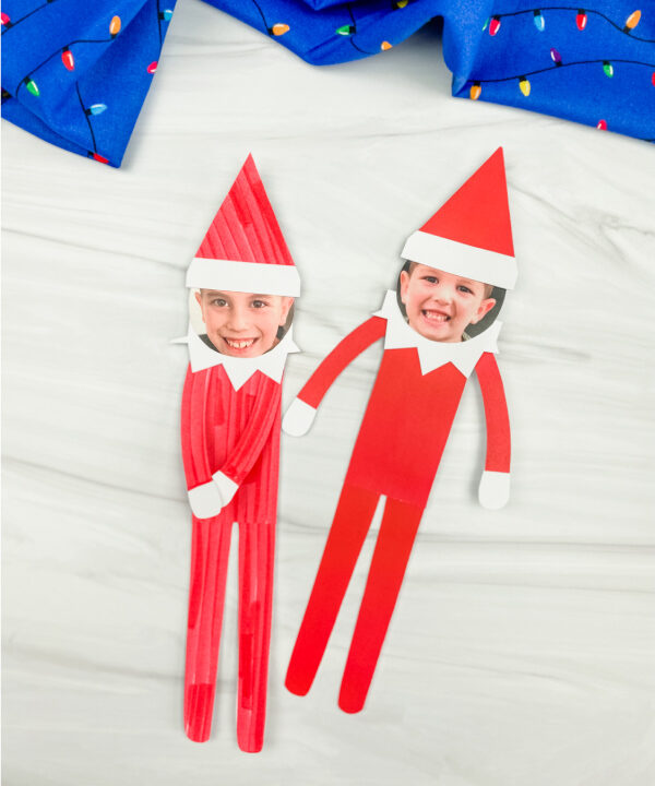 2 elf on the shelf photo crafts