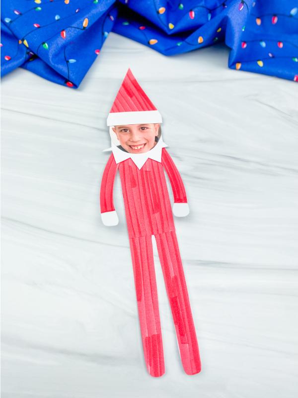 elf on the shelf photo craft
